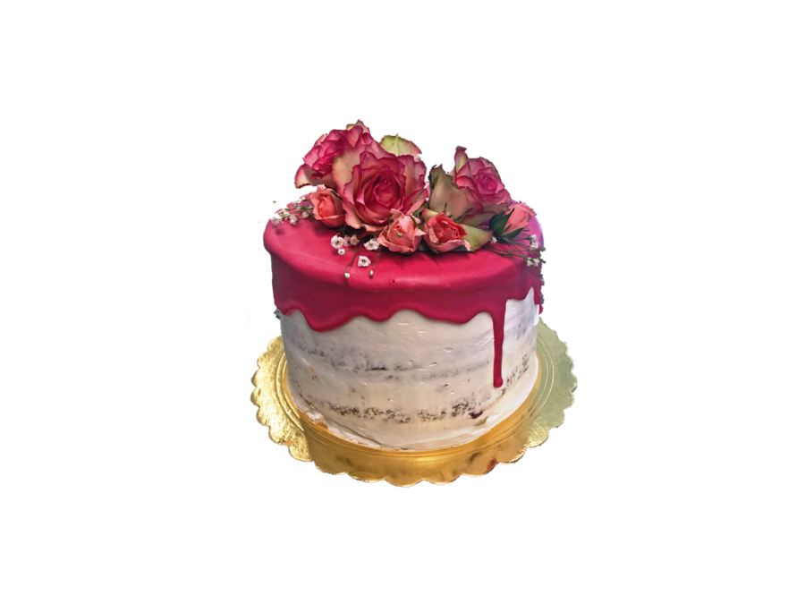 Drip Cake Floral